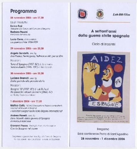 Iniziative con la partecipazione AICVAS a Romagnano Sesia, Bergamo, Monfalcone