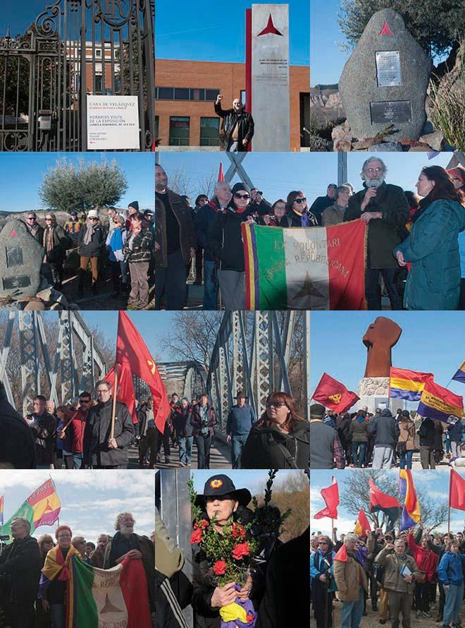 Madrid 21 e 22 febbraio  7a Marcia del Jarama