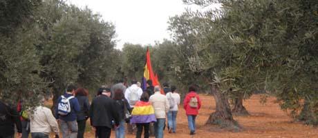 Più di 300 persone hanno partecipato alla 4° marcia del Jarama