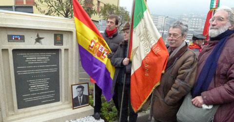 Inaugurato il monumento  a Giuseppe Verginella