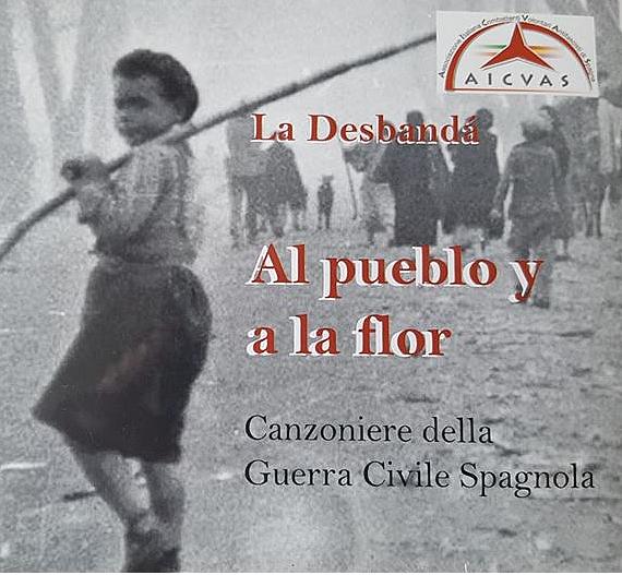 CD musicale Al pueblo y a la flor