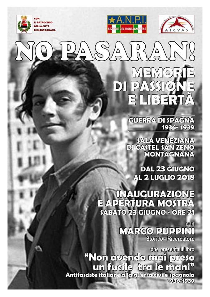 No Pasaran ! Memorie di Passione e libertà