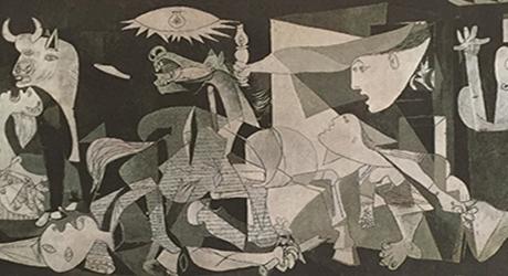 La denuncia della tragedia di Guernica  diventa un'icona dell'arte moderna