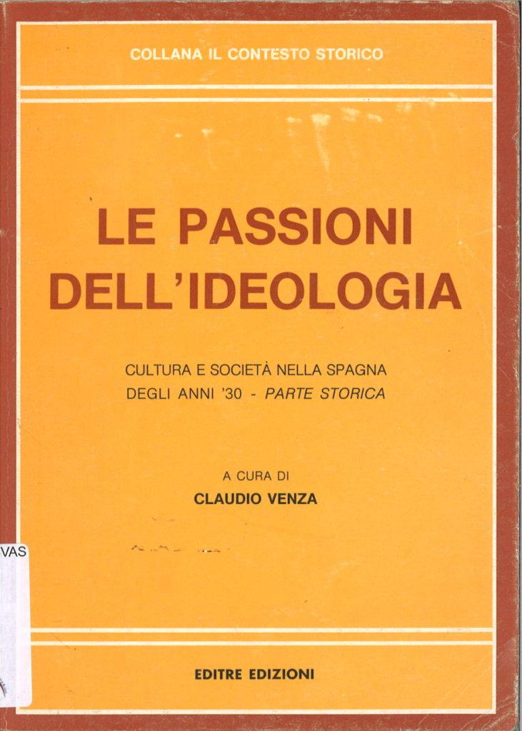 Le passioni dell'ideologia
