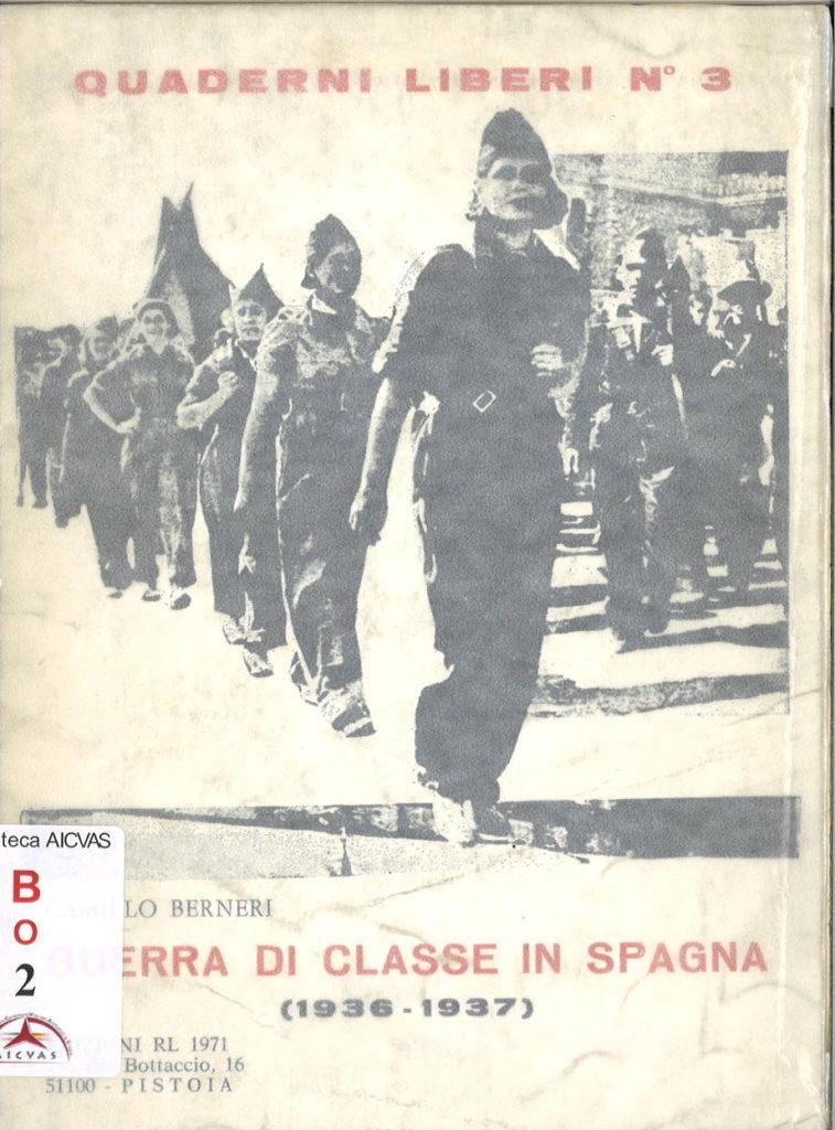 Guerra di classe in Spagna: 1936-1937
