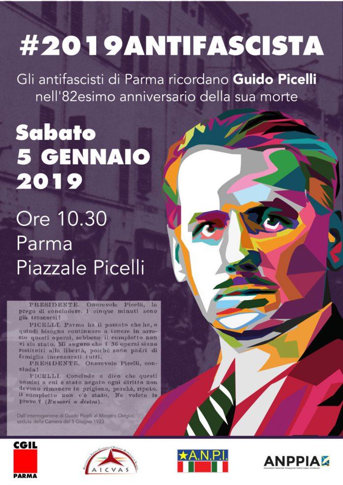 5 gennaio- Commemorazione 82esimo anniversario della morte di Guido Picelli