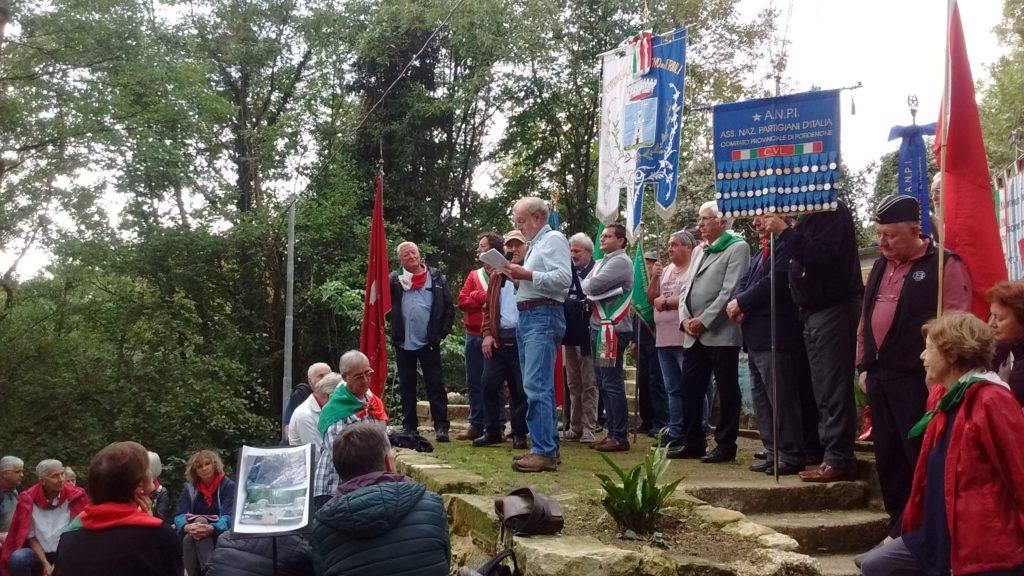 Iniziativa a Castelnovo del Friuli, Borgata di Davour La Mont, del 29 Settembre