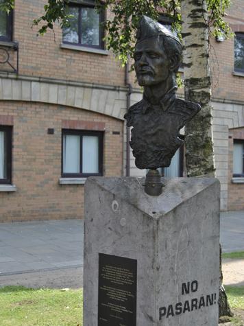 Belfast - Monumento alle Brigate Internazionali - IRLANDA DEL NORD