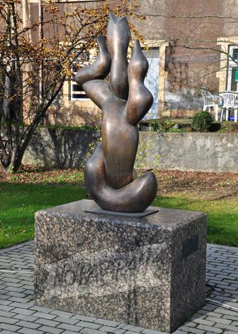 "Dudelange - Monumento ""No Pasarán"" - LUSSEMBURGO"