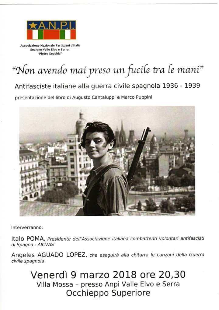 """OCCHIEPPO SUPERIORE (BI) SEZIONE ANPI """"PIETRO SECCHIA"""""""
