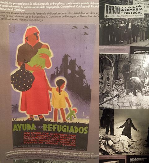 """Nell'ambito della mostra """"La Catalogna bombardata"""", il ruolo delle donne italiane in difesa della Repubblica"""