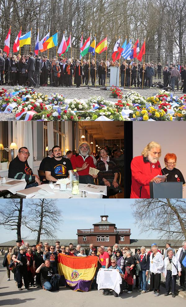 Manifestazione internazionale per il settantesimo della liberazione del campo di Buchenwald