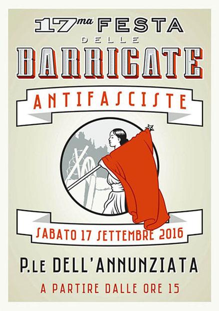 A Parma il 17 settembre 17^ Festa delle Barricate
