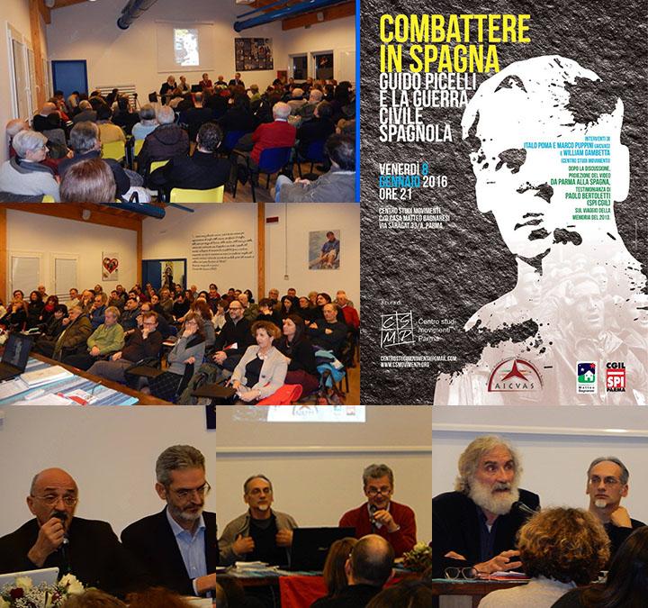 Iniziativa su Guido Picelli  e la guerra civile spagnola