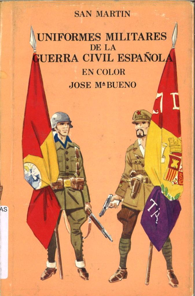 Uniformes militares en color de la guerra civil espanola