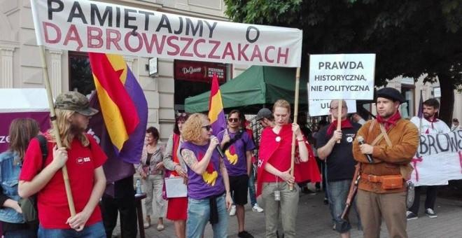 ANCORA PROBLEMI CON LA MEMORIA DEL BATTAGLIONE E BRIGATA DOMBROWSKI IN POLONIA