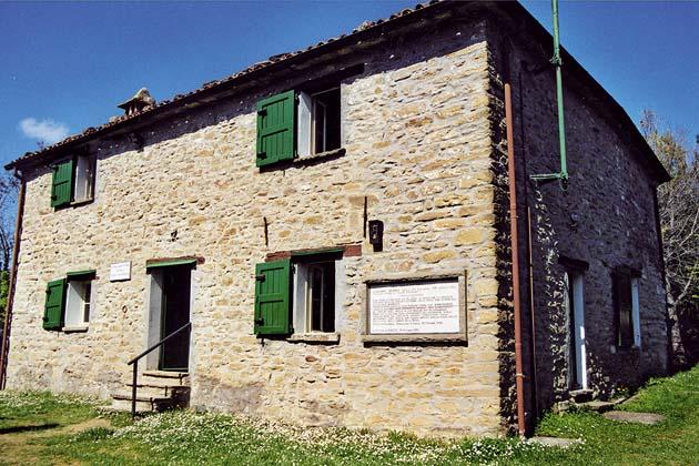Ricordo della 36a Brigata Garibaldi Bianconcini a Ca' di Malanca
