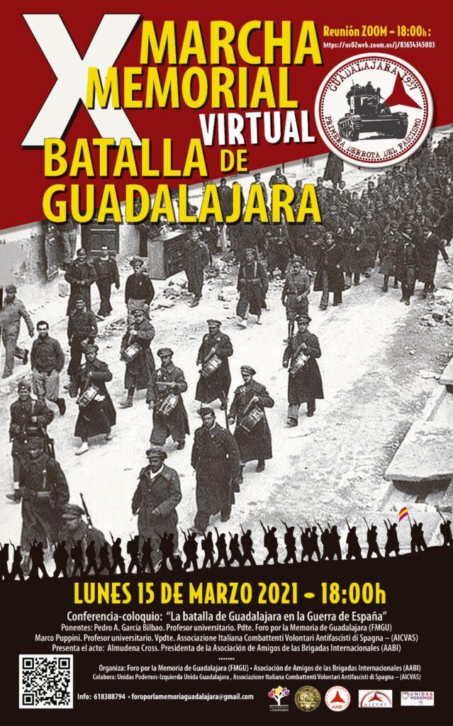 X Marcia in ricordo della battaglia di Guadalajara