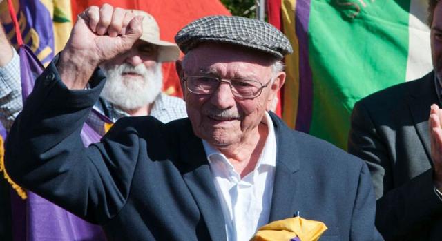 José Almudéver, uno degli ultimissimi volontari dell'Esercito Popolare Repubblicano e delle Brigate Internazionali, è morto.