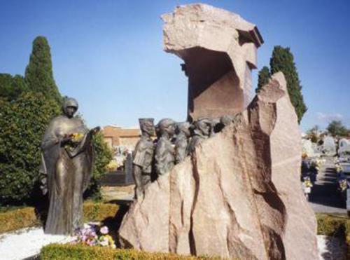 Fuencarral - Monumento dedicato ai volontari sovietici - SPAGNA