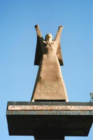 "Glasgow - Monumento alla ""pasionaria"" Dolores Ibarruri - SCOZIA"